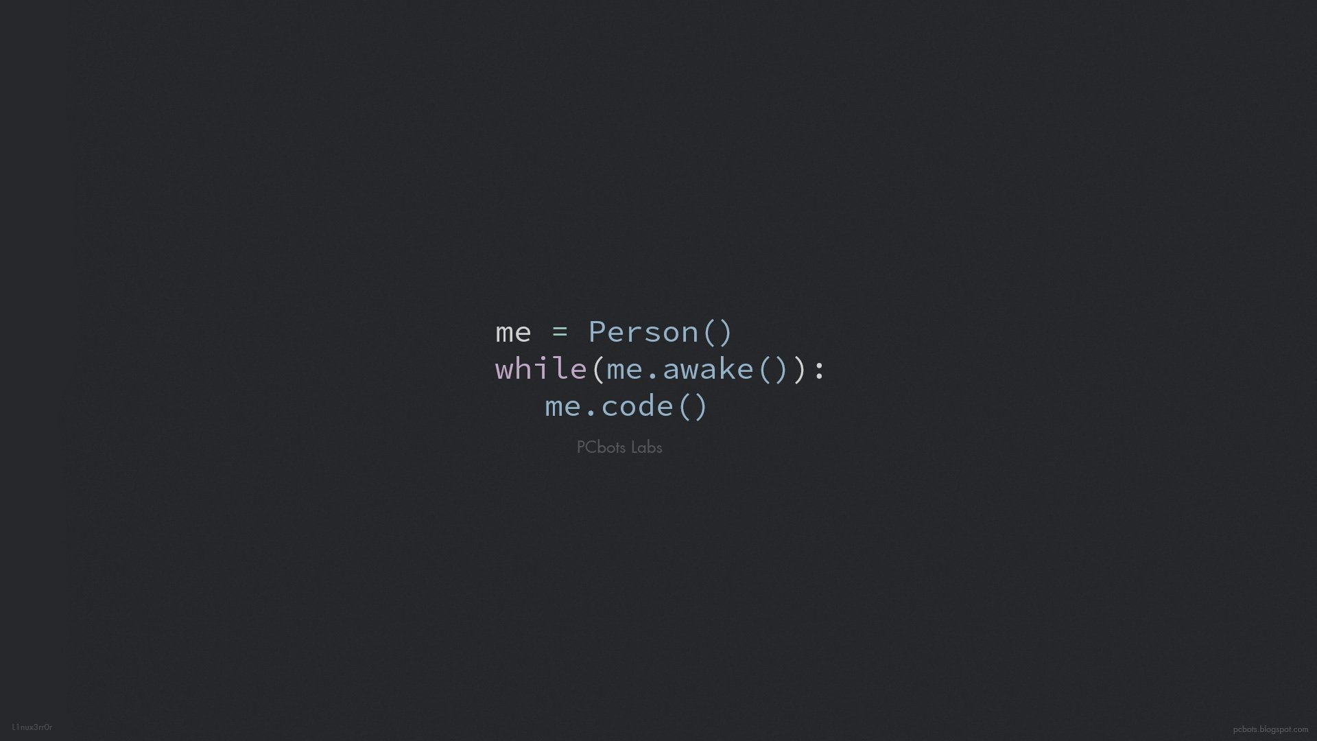 Awke to Code – HD Wallpaper