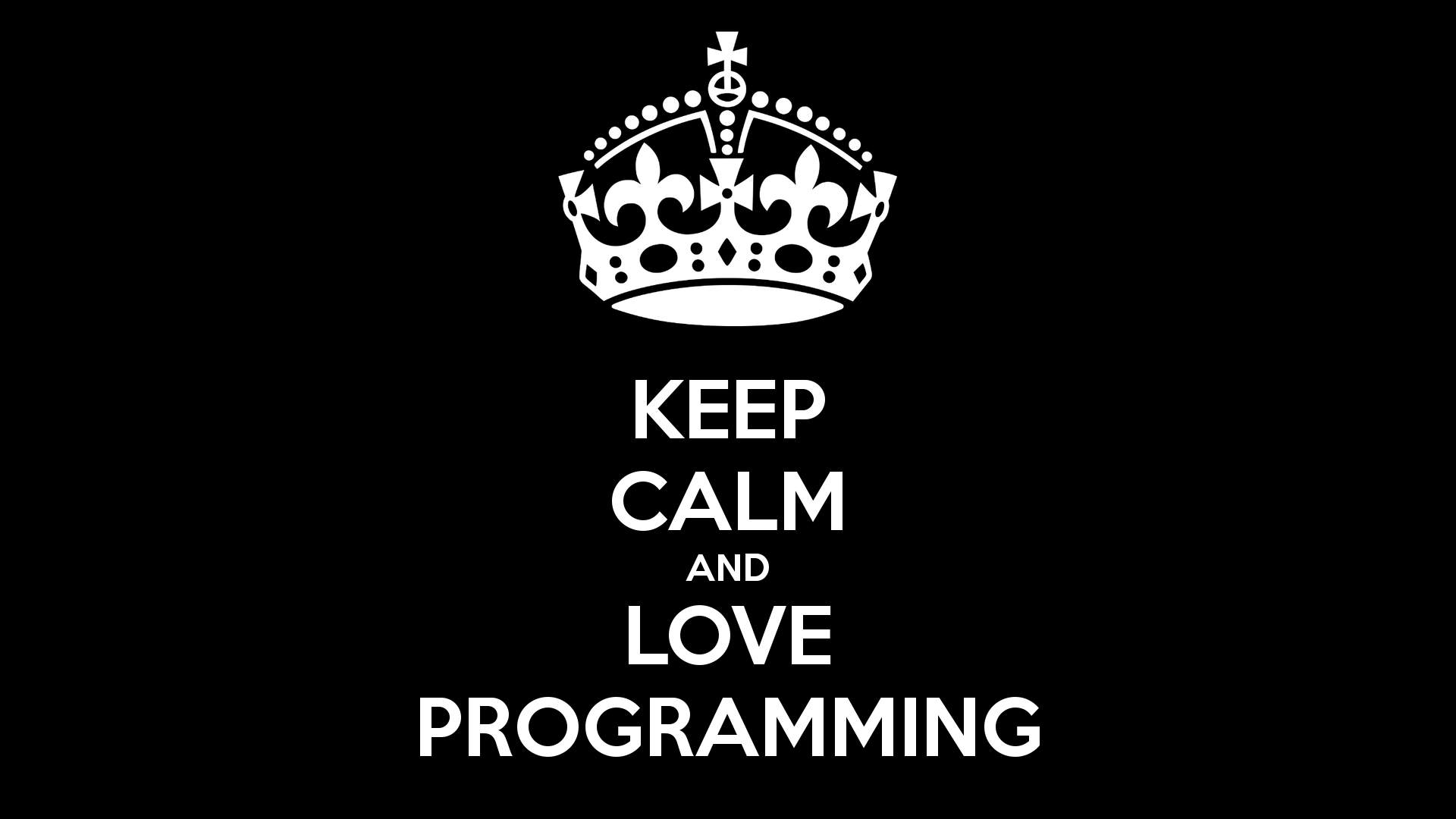 Programmer King Desktop Wallpaper