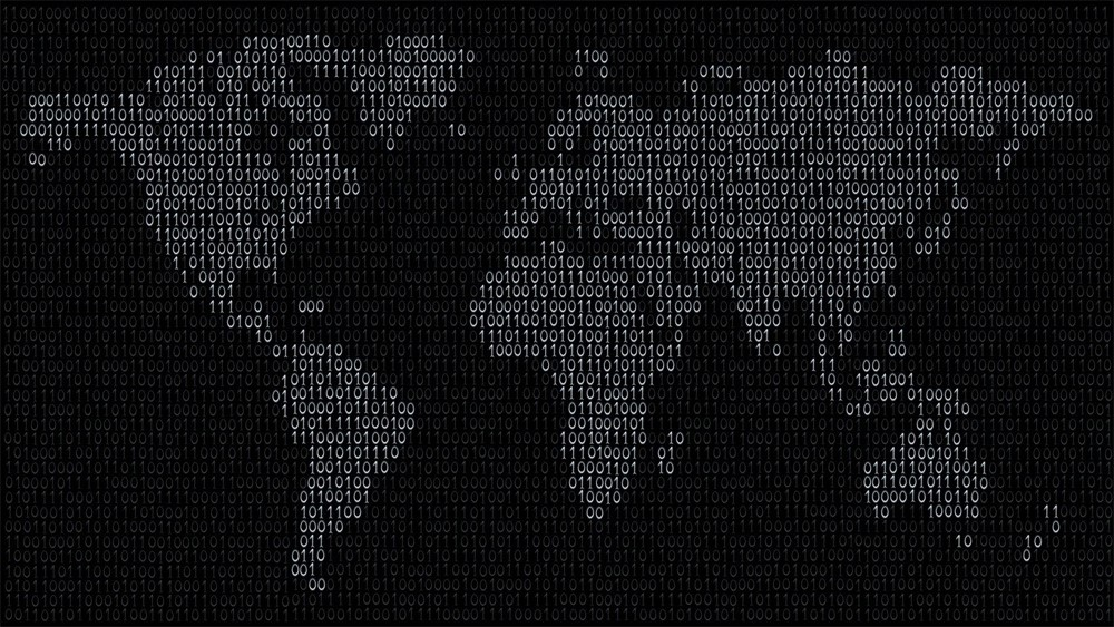 Programming World Map Wallpaper