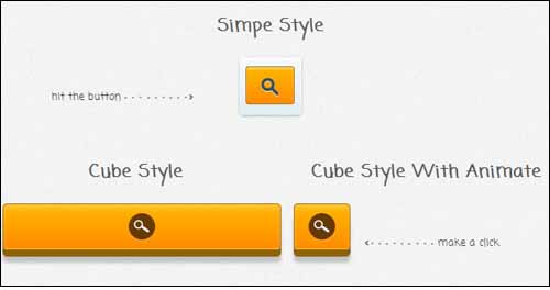 JQuery Cube Style Search with Animation