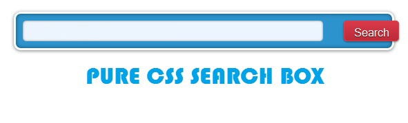 Pure Css Full Width Search Form