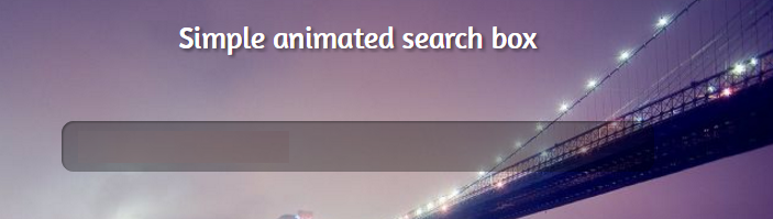 Advanced Search with Background