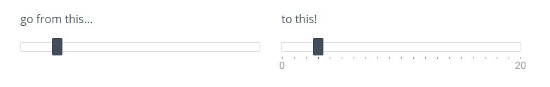 Simple jQuery input slider