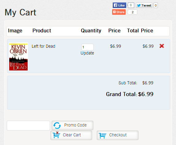 XOO Digital PHP Script for Cart