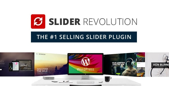 Slider Revolution (For All WP Themes) Wordpress Plugin