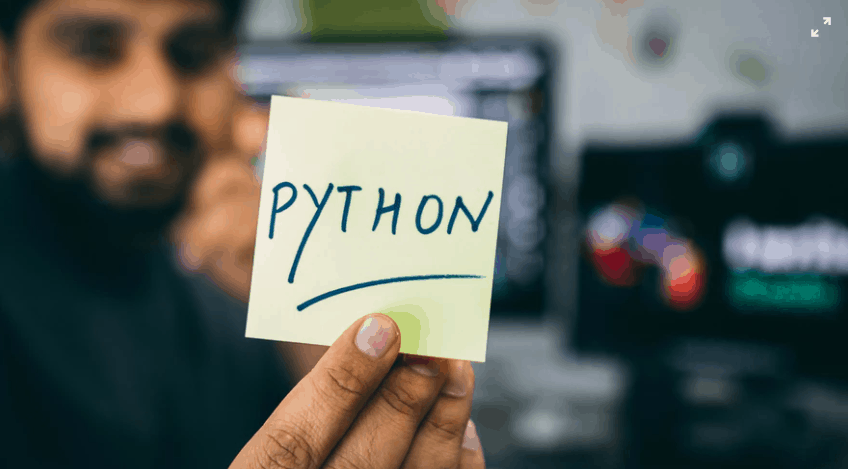 Python Text in a Card