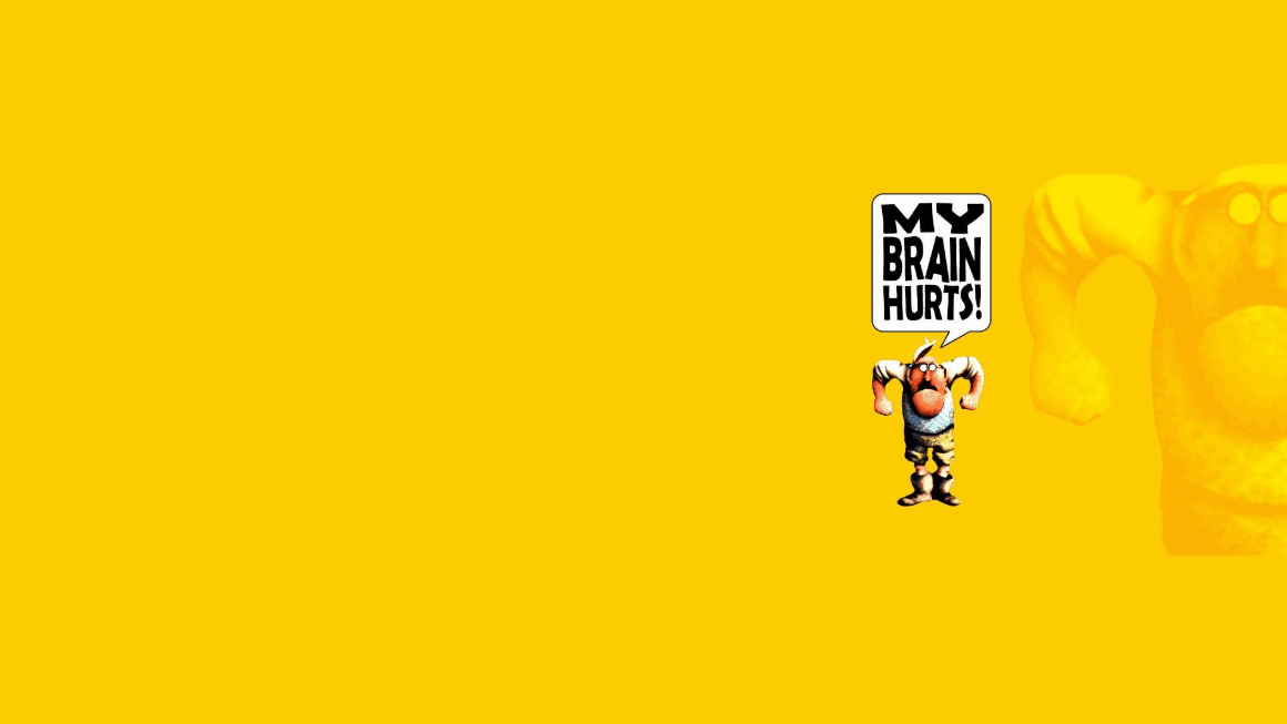 My Brain Hurts Coding Wallpaper