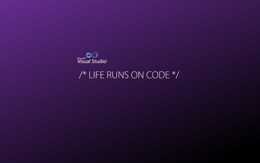 Visual Studio – Life Runs on Code