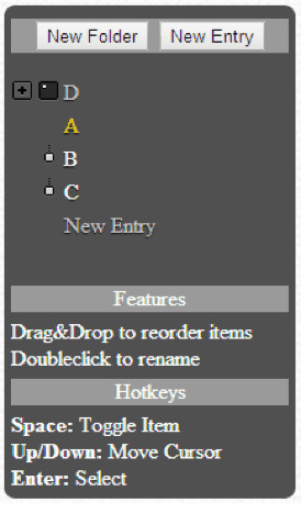 dasBaum : jQuery Drag & Drop Treeview plugin