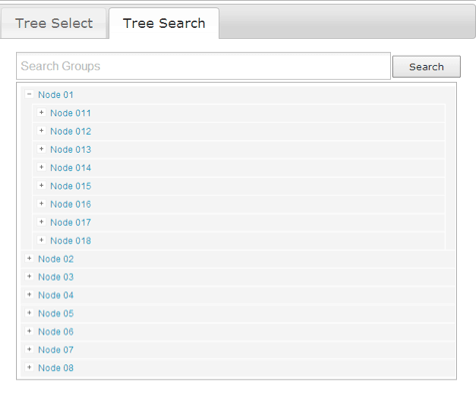 jQuery TreeSelect : Hierarchy JSON Select widget