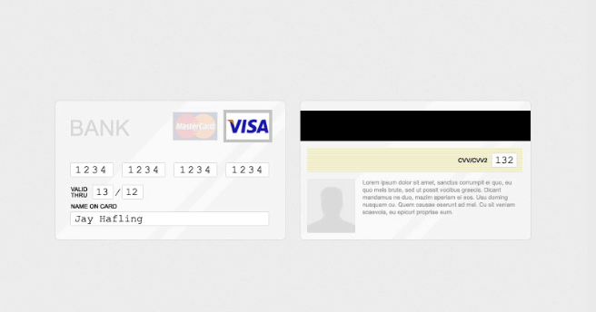 Credit Card Authorization Form PSD