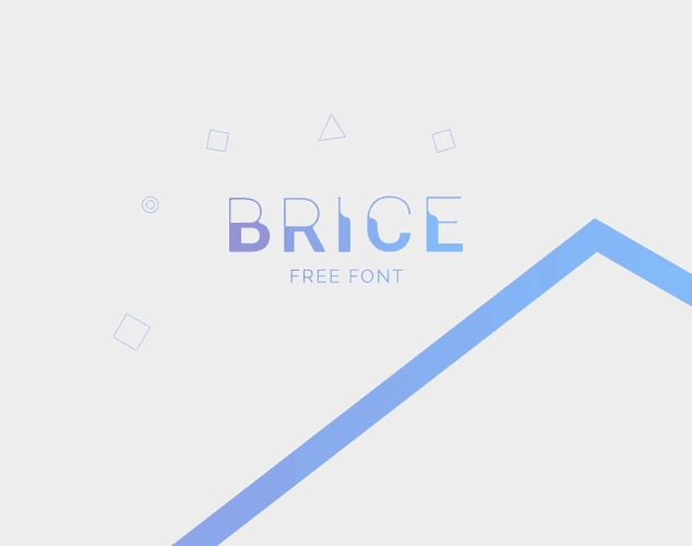 Brice Sketch Font