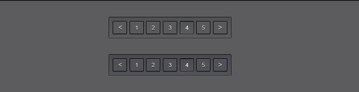 Dark Themed Pagination Template