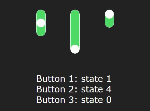 Multi-state( 2 State, 3 State, 4 State) Toggle Switch CSS