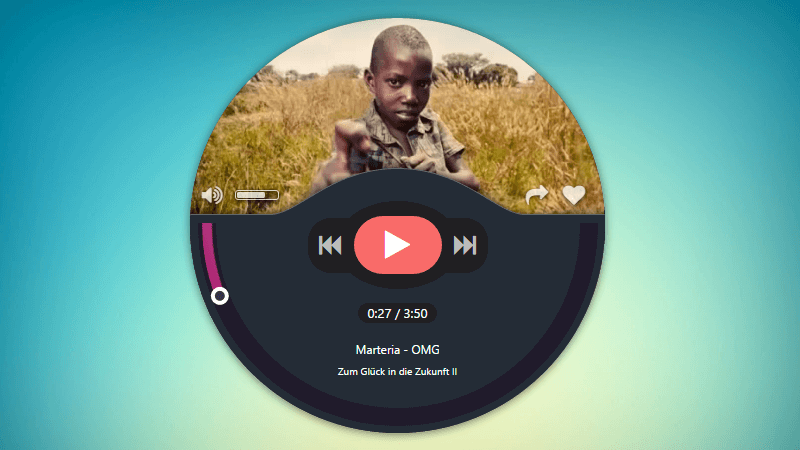 Music Player by Sebastian Beltz With Playlist Tutorial