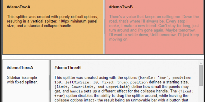 18 Best Jquery Resizable DIV HTML & CSS