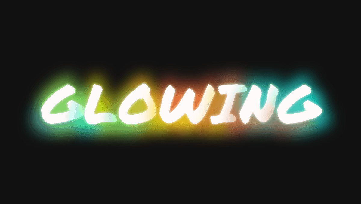 CSS Glow Effect On Hover Glowing Text