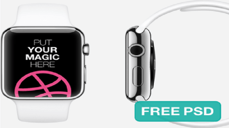 Apple-Watch-Free-Template