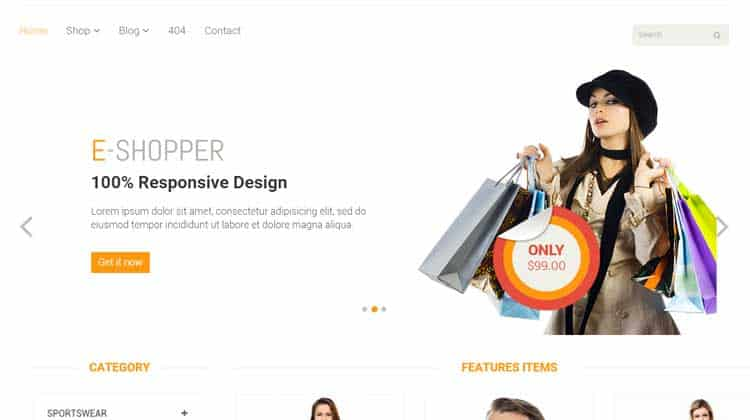 E-Shopper-HTML-Template