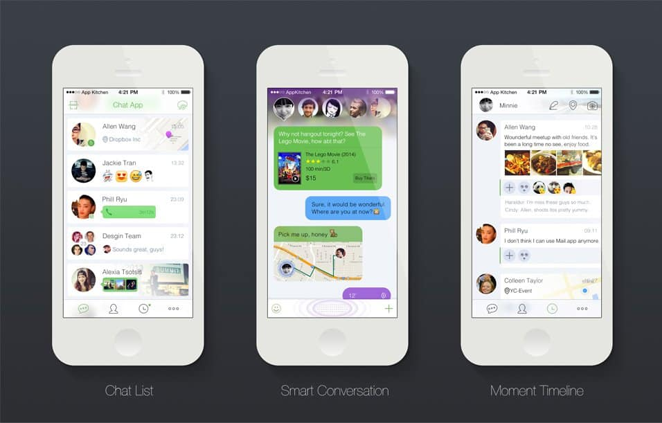 Smart Chat App PSD Tutorial
