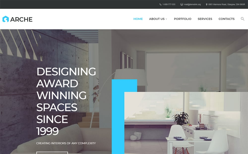 Arche Responsive HTML Template
