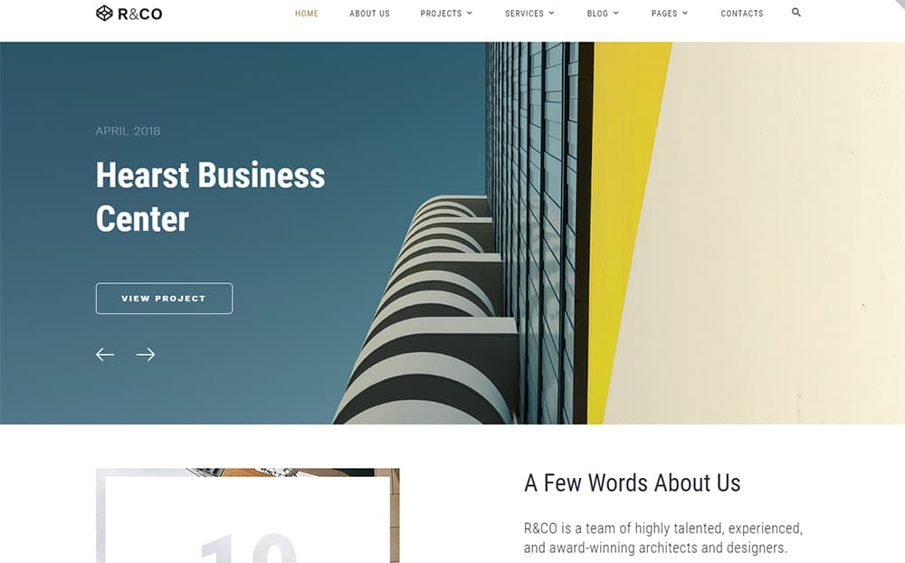 R&Co - Multipage Business Center HTML Template