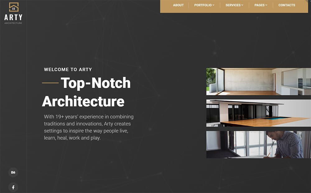 Architecture Multipage HTML5 Template
