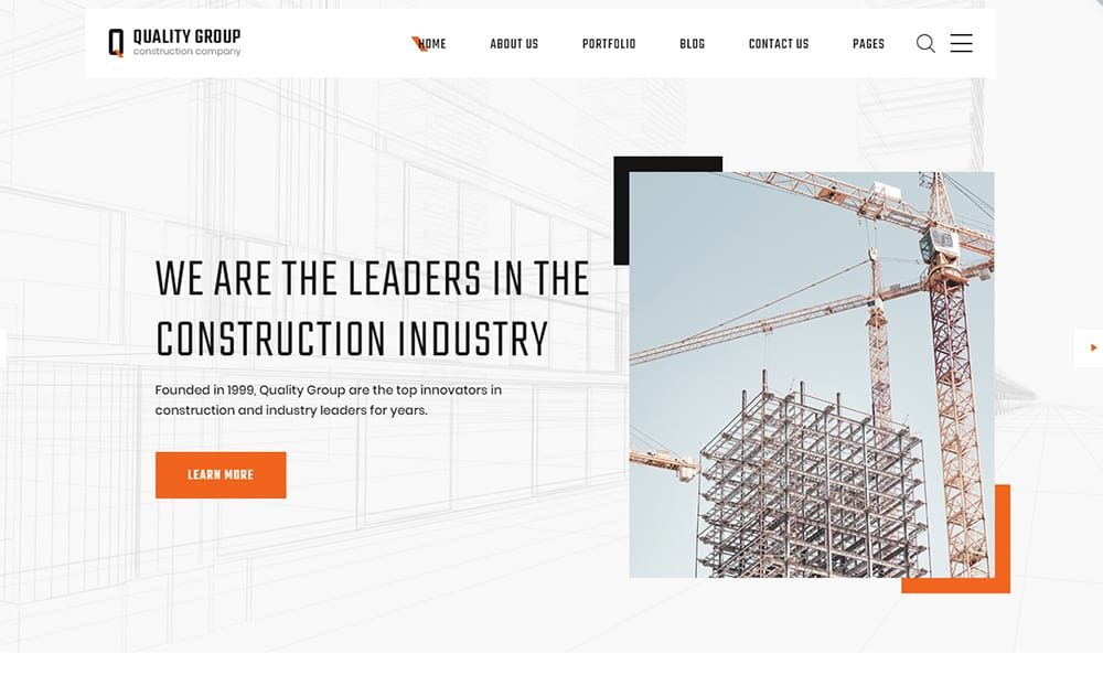 Quality Group Home Builder Website Templates