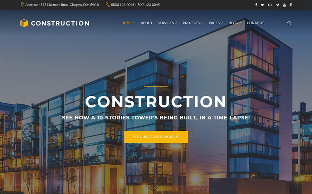 Constructor - Monstroid2 Family Construction HTML5 Theme