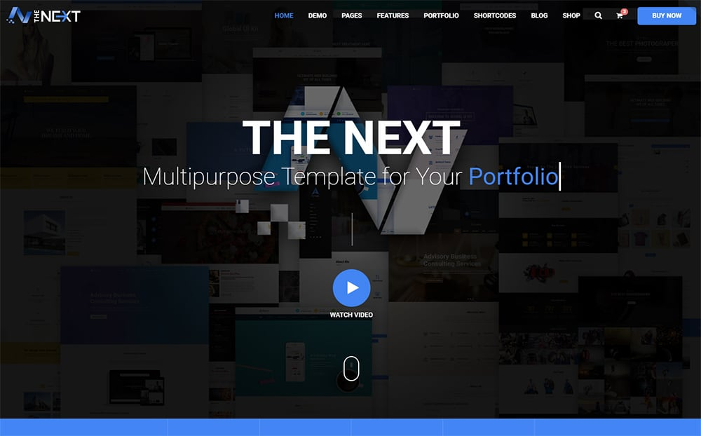 TheNext - Multifunctional Theme for Digital Portfolio