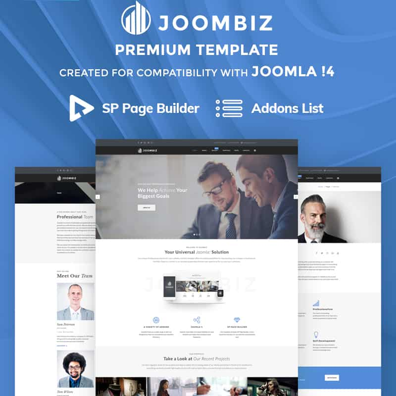 Joombiz - Efficient Business Joomla Theme