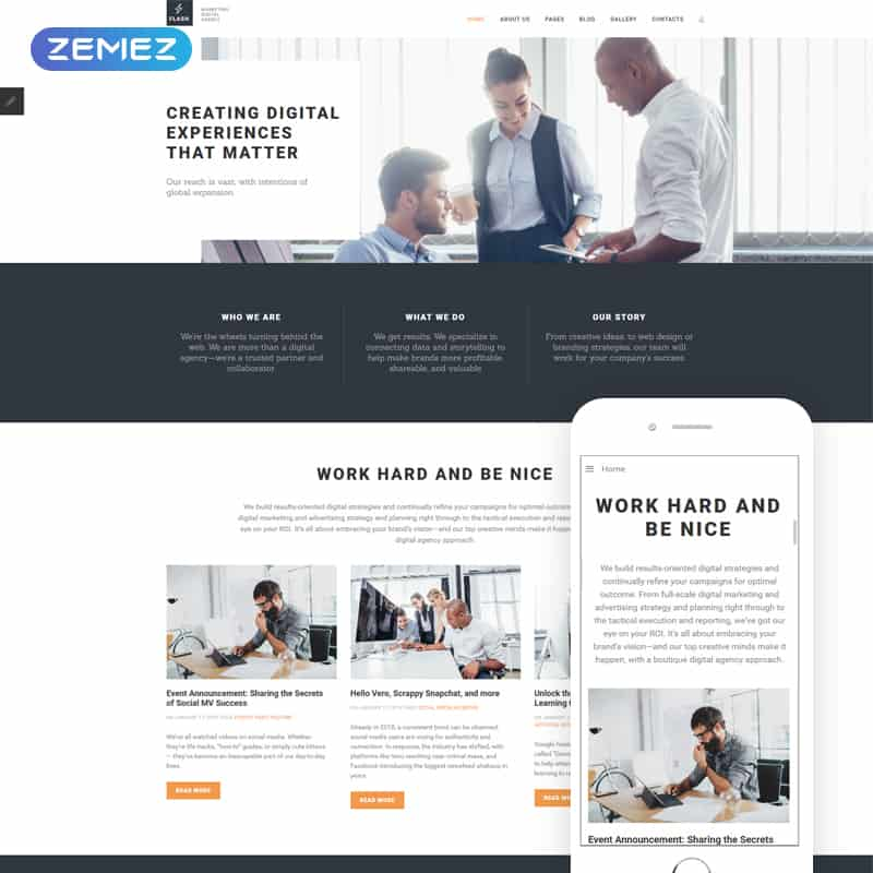 Flash - Corporate Joomla Theme