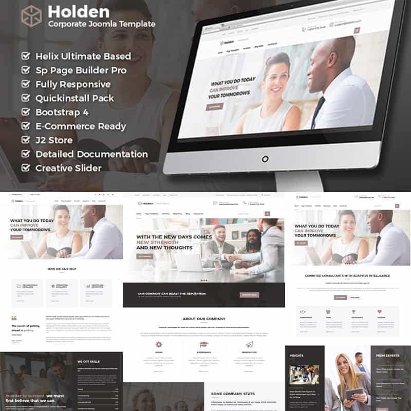 Holden - Business Joomla Theme