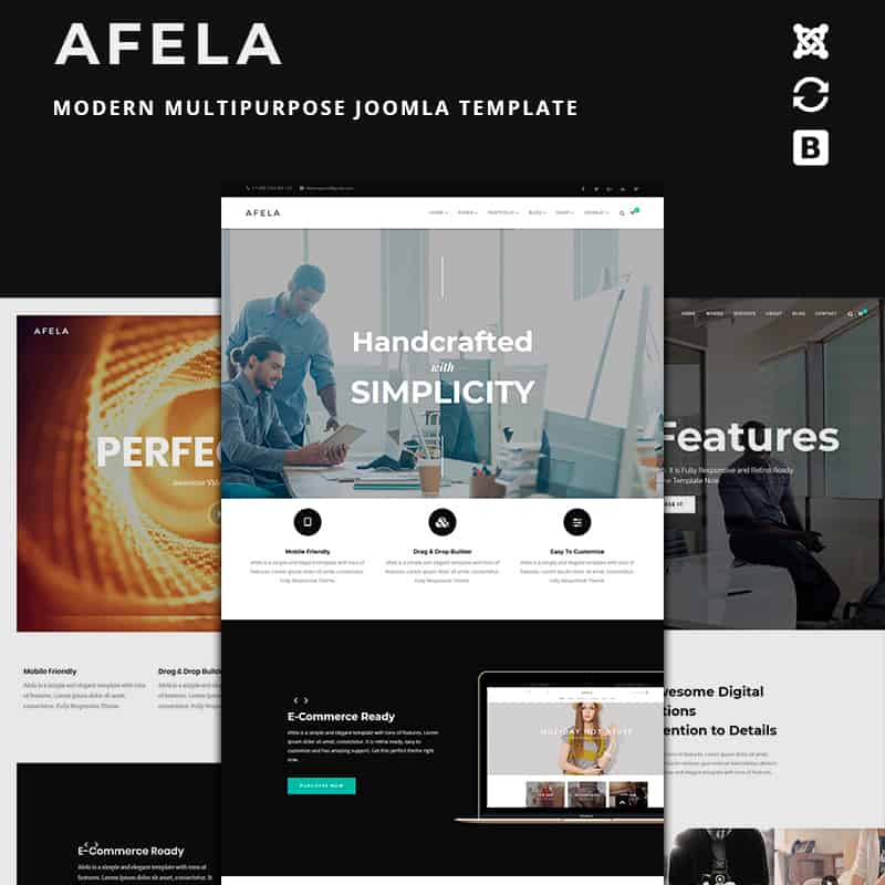 Afela - Flexible Multipurpose Joomla Design