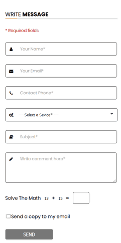 Web Form - Multi-Purpose HTML Form with jQuery Validation