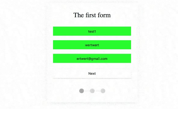 Multi-Step Form with Vanilla JS