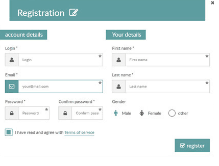 Responsive Login, Sign Up and Payment Form Wizard