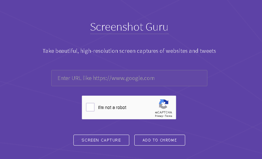 Screen Capture Web Pages with JavaScript