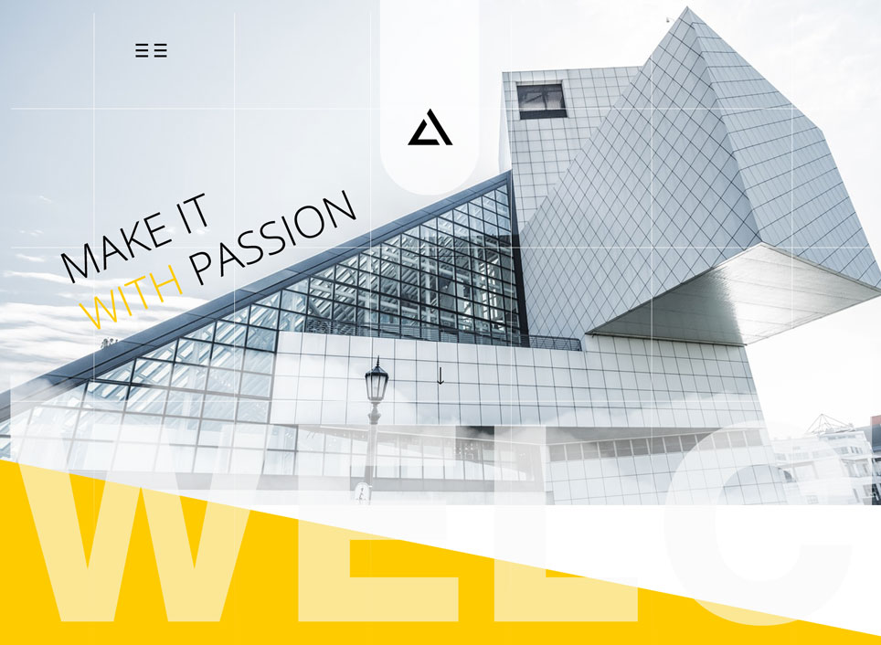 Free Architect Website PSD Template
