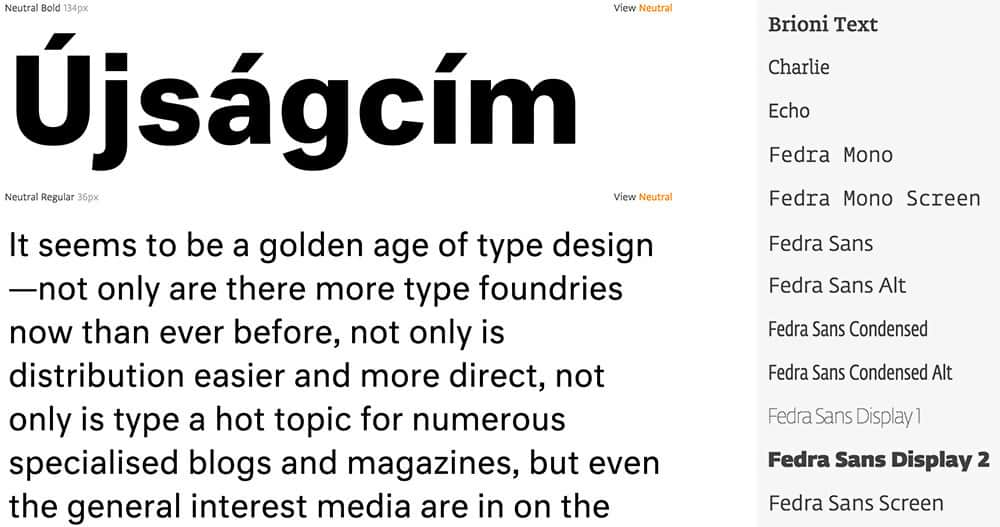 Font Combinator by Typotheque