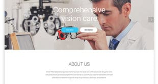 best HTML medical web template