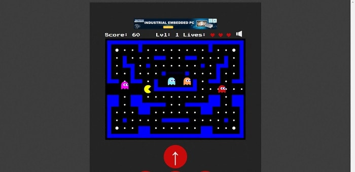 Pacman-canvas Game