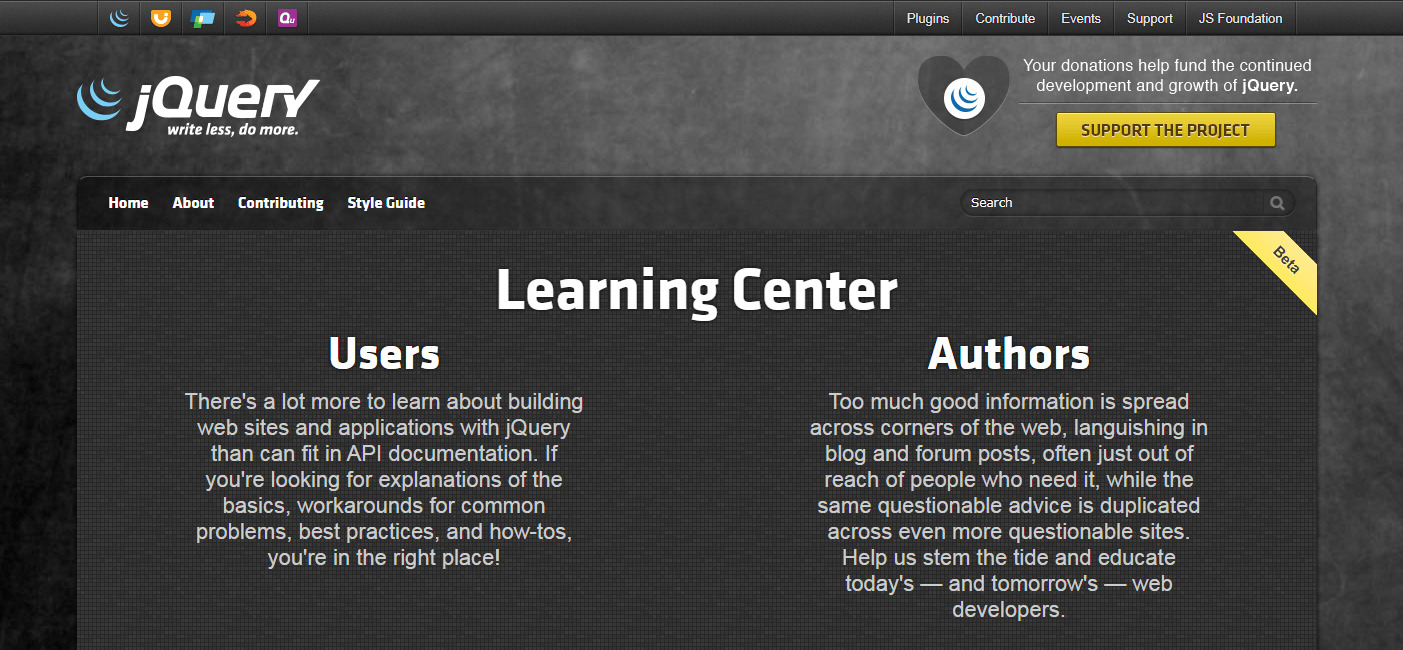 Learn.jQuery Official Site