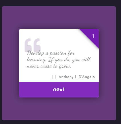 Quote Card Examples