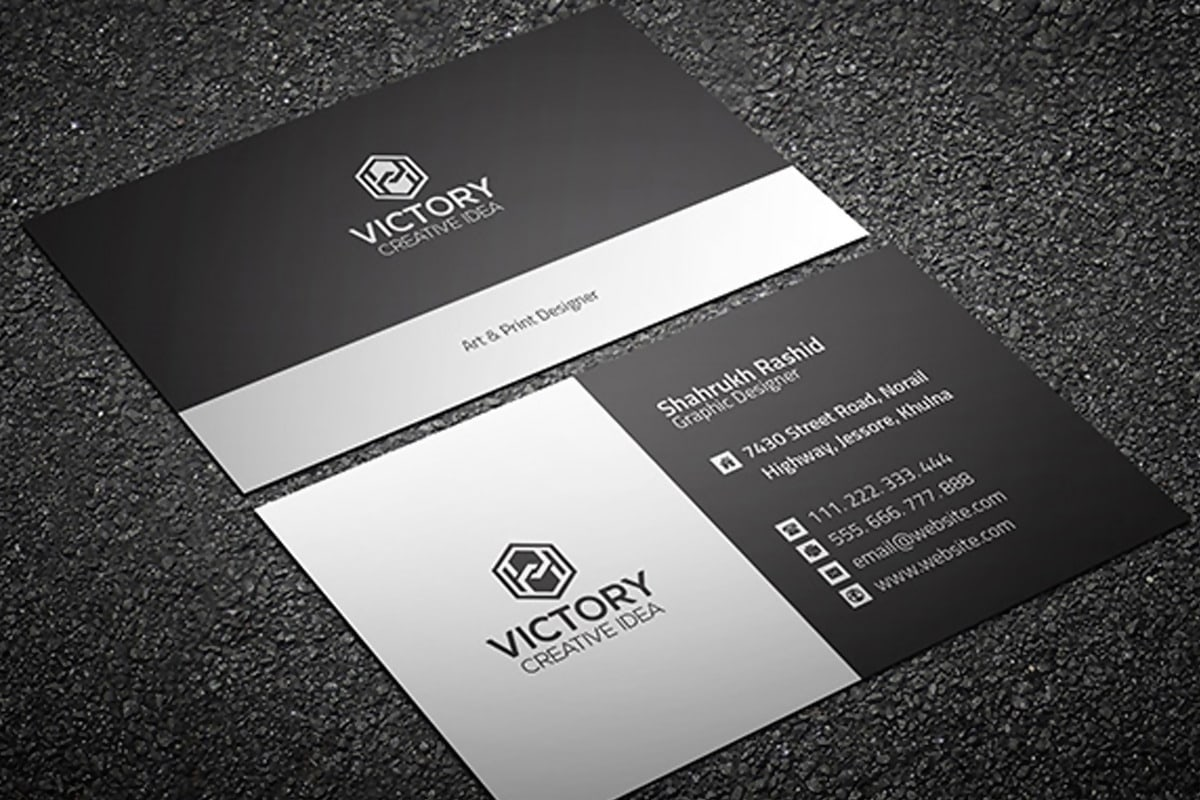 FREE Graiht & Corporate Business Card