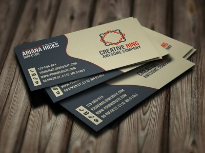 Free Creative Ring Business Card