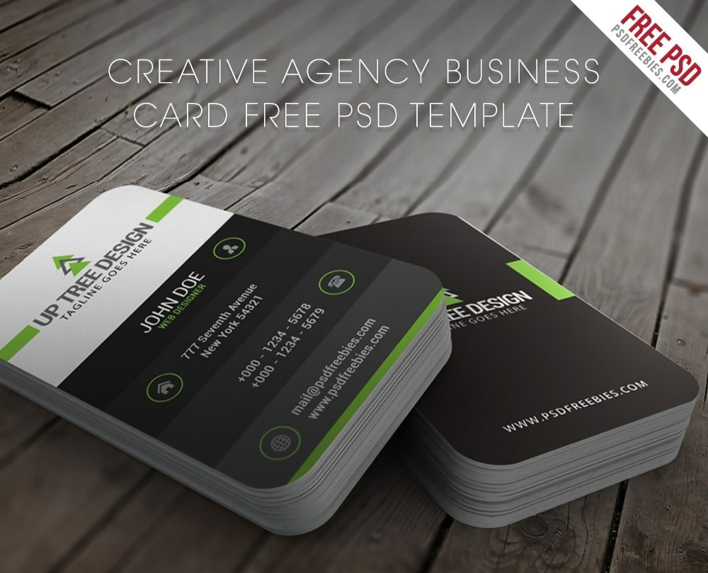 100 Free Creative Business Cards Psd Templates