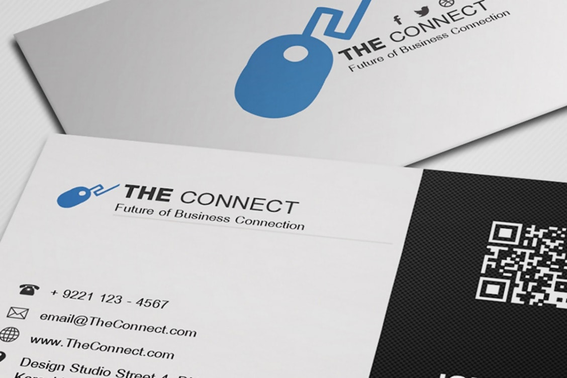 The Connect Free Corporate Business Card