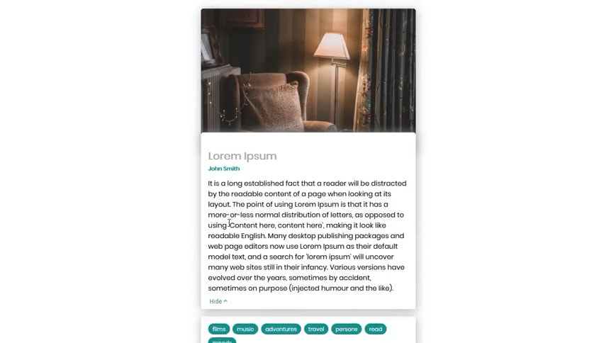 Blog Preview jQuery Modal