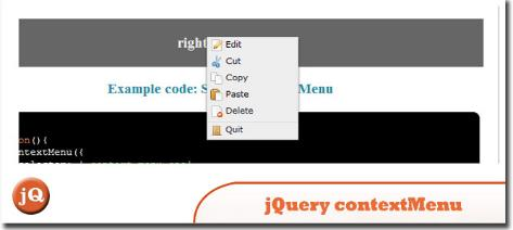 jQuery Context Menu Plugin & Polyfill 2